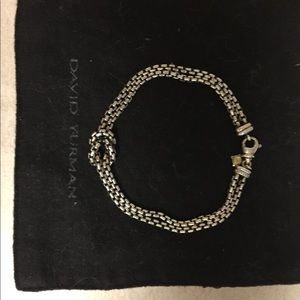 David Yurman double infinity knot bracelet